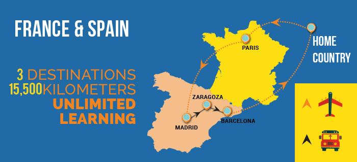 France_Spain_Map