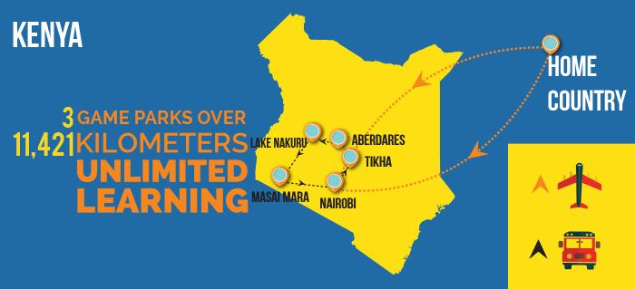 Kenya_itinerary_map