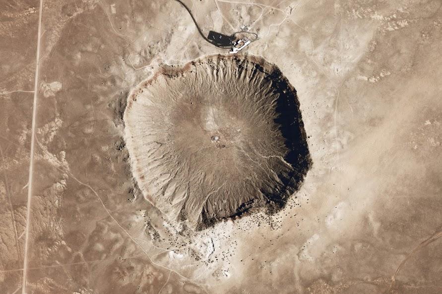 Meteor Showers - Barringer Crater