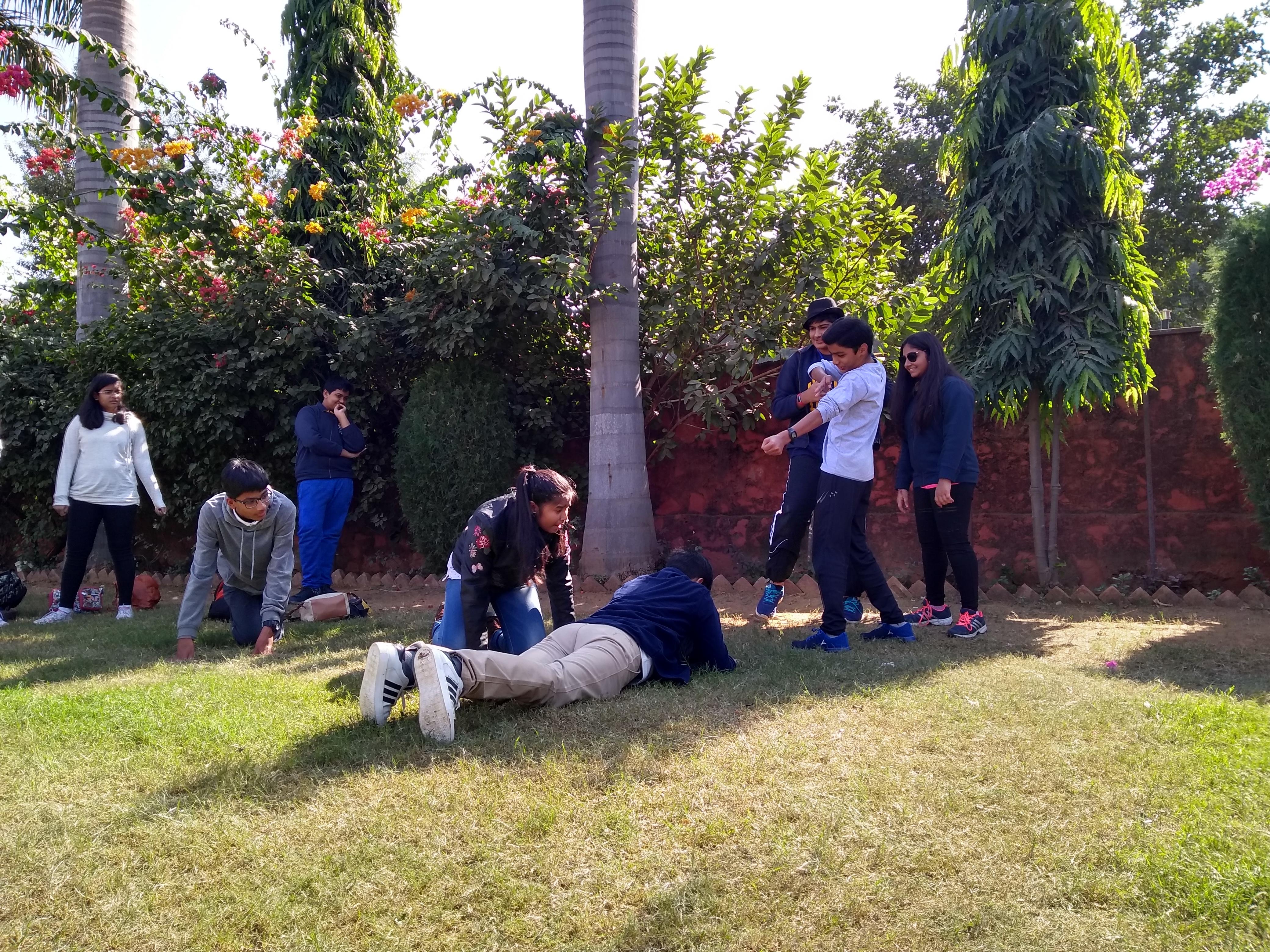 Theatre activity at Ranthambore