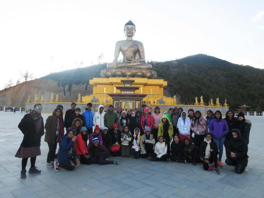 The Shriram Millennium School in Bhutan
