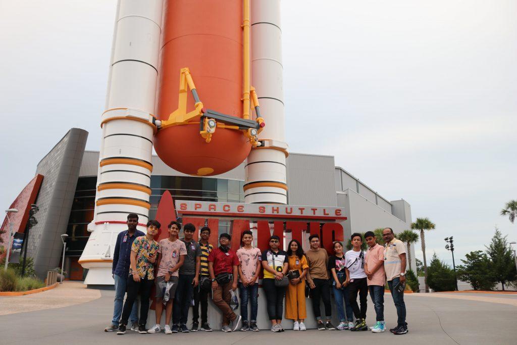 Kennedy Space Center with G.D. Goenka Public School